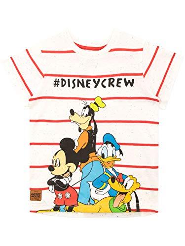 Disney Jungen T-Shirt Mickey Mouse Mehrfarbig 122