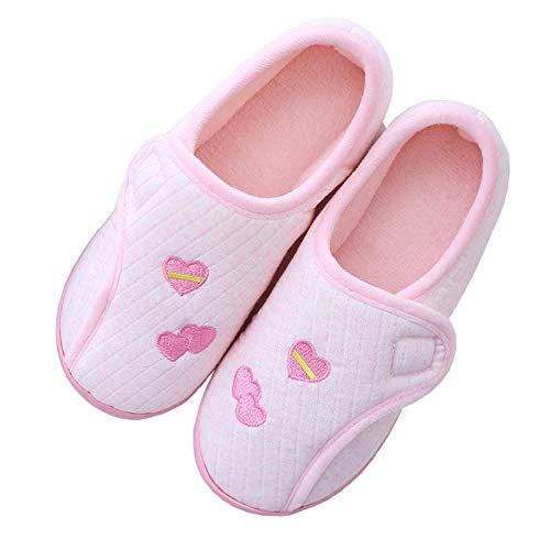 Mesh gezwollen schoenen met zichtbare vingers,Postpartumpakket met opsluitschoenen, dikke zachte antislip pantoffels-36_poeder,Schoen voor gezwollen voeten, oedeem, ouderen