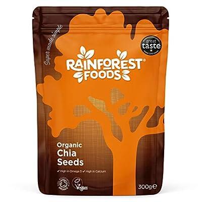 Rainforest Foods Organic Chia Seeds 300g