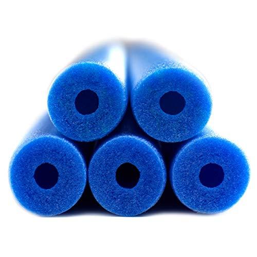 Fix Find 52 Inch Colorful Foam Pool Swim Noodle 5 Pack in Blue 52