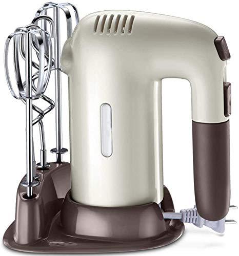 DX 5-Gang-Handmixer, elektrisch, 200 W Ultra Power Küchenhandmixer, s mit 4 Edelstahl-Aufsätzen und Aufbewahrungskoffer