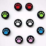 Vivi Audio - Juego de 10 tapas para palanca de mando para PS4, Xbox, One, Xbox, 360, PS3, PS2, pata de perro de gato