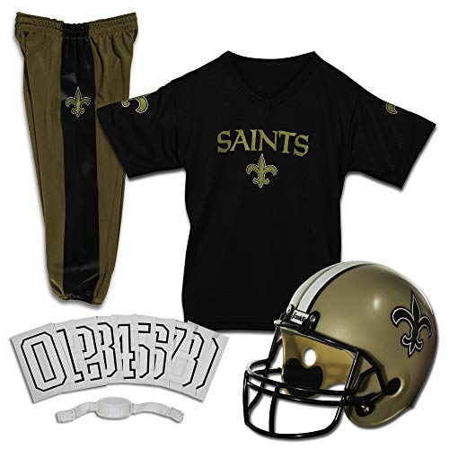 Saints Sinners Costumes Ideas - Franklin Sports Deluxe NFL-Style Youth Uniform