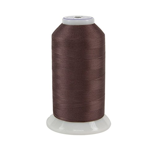 Best Prices! Superior Threads 11602-528 So Fine Raisin 3-Ply 50W Polyester Thread, 3280 yd