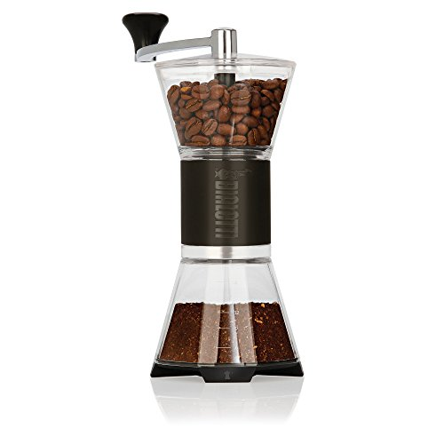 Bialetti 6790 Manual Adjustable Coffee Grinder, One Size, Black