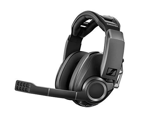 Sennheiser GSP 670 Wireless Gaming Headset, 7.1 Surround Sound, Noise-Cancelling Mikrofon, Latenzarme Verbindung und Bluetooth, Flip-to-Mute, Kabellose Kopfhörer für Windows PC, PS4 und Handy