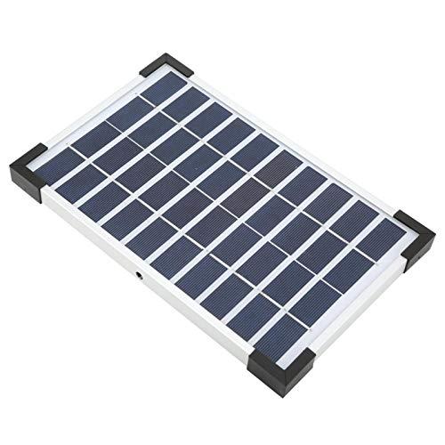 KUIDAMOS Solarpanel Sauerstoffpumpe Sichere Verwendung Solarenergie Luftpumpe Oxygenator Solarladung für Gartenteich für Zierfische für Poolteich