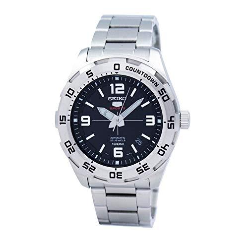 Seiko Herren Analog Automatik Uhr mit Edelstahl Armband SRPB79K1