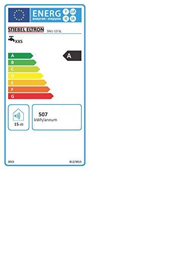 STIEBEL ELTRON druckloser Kleinspeicher SNU 10 SL, 2 kW, 10 l, Antitropf-Funktion, Thermostop-Funktion, Untertisch, stufenlose Temperaturwahl, 222197 - 3