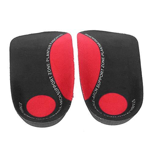 Redxiao 【𝐁𝐥𝐚𝐜𝐤 𝐅𝐫𝐢𝐝𝐚𝒚】 oot Arch Support, Desodorante Absorbente de Sudor Plantilla de pie Plana cómoda Suave y Resistente al Desgaste, Alivia la Fatiga para el Cuidado de los pies(S)