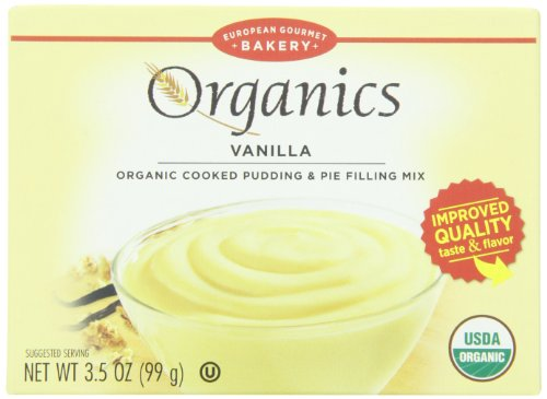 European Gourmet Bakery Organic Pudding Mix, Vanilla, 3.5 Ounce (Pack of 12)