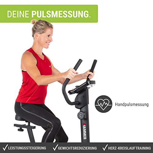 Fitness Trainingsrad HAMMER Heimtrainer Cardio T3 Bild 5*