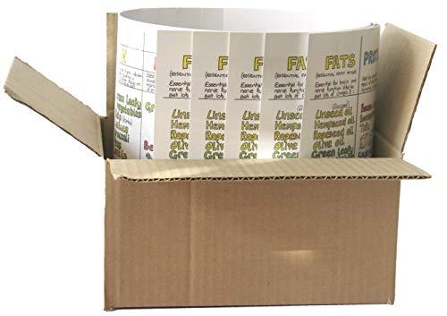 Voeding Wallchart Multipack 5 ontkoppelde Wallcharts Direct van Liz Cook