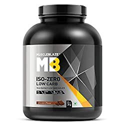 Muscleblaze Iso-zero Low-carb 100% Best Whey Protein Isolate