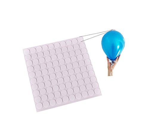 Juego de 100 adhesivos para globos de RepairMedia-Shop, para el montaje de globos en el techo, P066