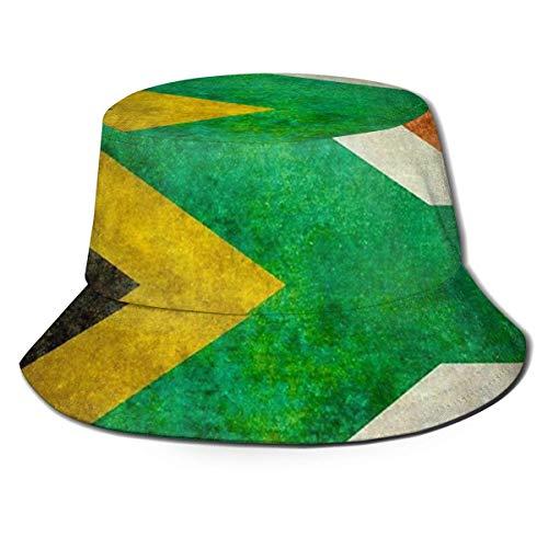 zhouyongz Sonnenhaube für Sommer und Winter, für Jagd und Angeln, Picknick, neutrale Hülle, Nationalflagge der Republik Südafrika