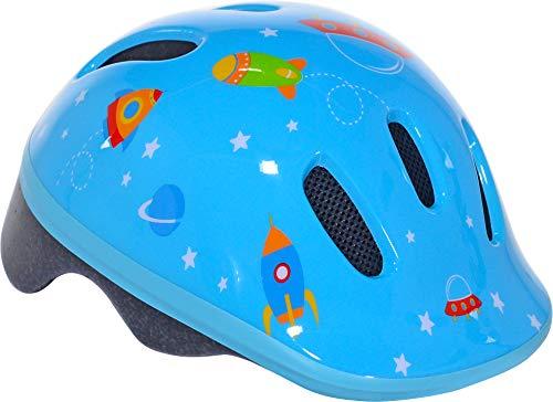 WeeRide fietshelm voor baby's, unisex, blauw, XXS