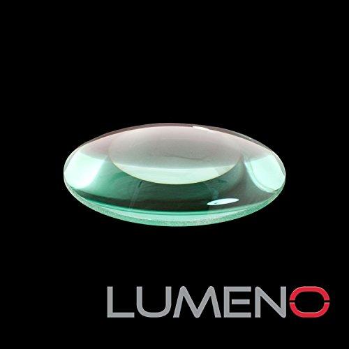 Lumeno 613X und 623X Ersatzlupe Ersatzlinse für Lupenleuchten 3, 5 o. 8 Dioptrien mit 125mm Durchmesser Standard oder farbechte kristallklare Echtglaslinse Linse-Standard 8 Dioptrien