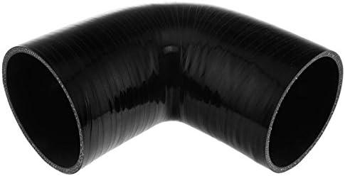 Max 76% OFF Pegasus E90.102-BLACK-6 Black Silicone Hose 90 4.00