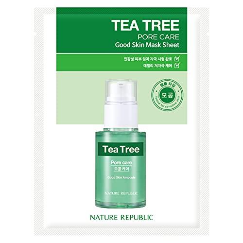 [New] Nature Republic Real Nature Mask Sheet_10Sheet (#Tea Tree)