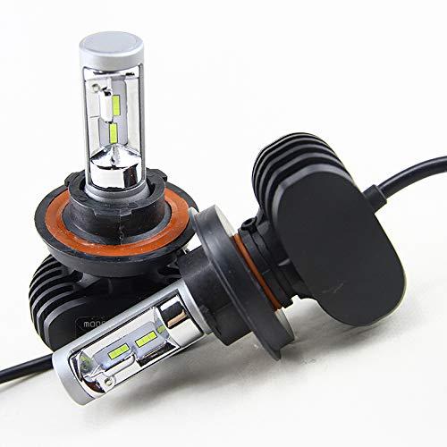 Kit de faros LED de alta potencia de 50 W 8000 LM para Ford F150 F-150 blanco luces altas y bajas (2004-2014)