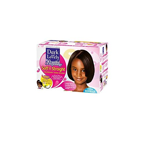 DARK AND LOVELY - Kit Défrisant Sans Soude Beautiful Begginings Cheveux Normaux - Lot De 3