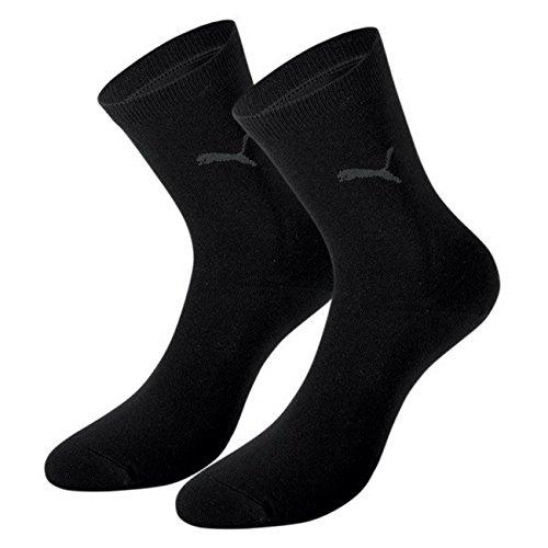 PUMA Damen Casual Socken Classic 6er Pack, Größe:39-42;Farbe:black