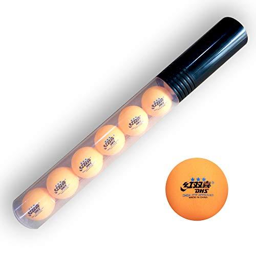 Pingponghouse Ballhalter (für 9 Bälle) + DHS Tischtennisball 40+ (Orange)
