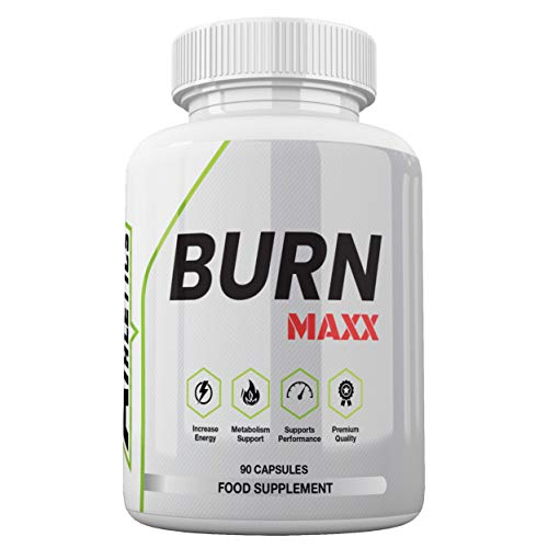 Burn MAXX Fat Burner by Freak Athletics - Fat Burners Suitable for Both Men & Women - 90 Capsules - Made in The UK High Quality Guaranteed