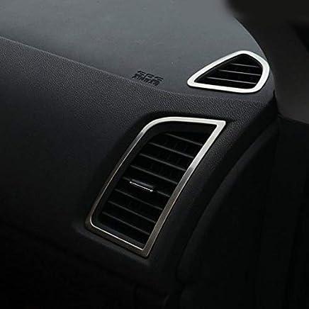 Cubierta de aire acondicionado para ASX 2018, marco de acero inoxidable, 4 piezas