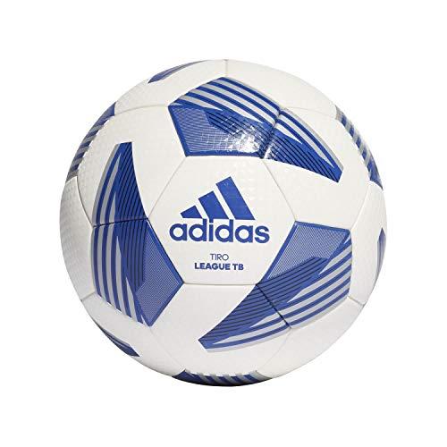 adidas Unisex– Erwachsene Tiro LGE Tb Trainingsball, White/Black/Silvmt/Ro, 5