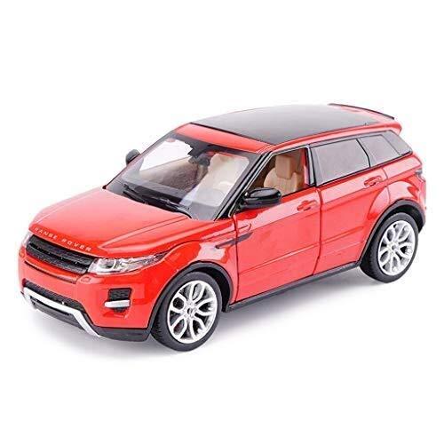 IMBM Modellino 1:24 Land Rover Range Rover Aurora Simulazione Lega Giocattoli Pressofusi Ornamenti Collezione di Auto Sportive Formato 18x7x7 Cm