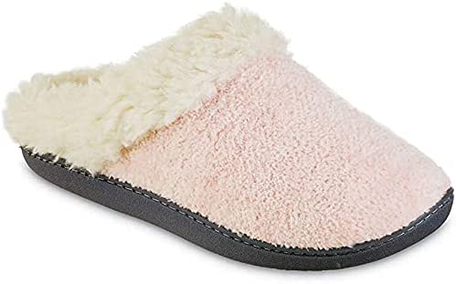 isotoner Daily bargain sale Max 55% OFF Womens Chenille Sage Slippers Hoodback