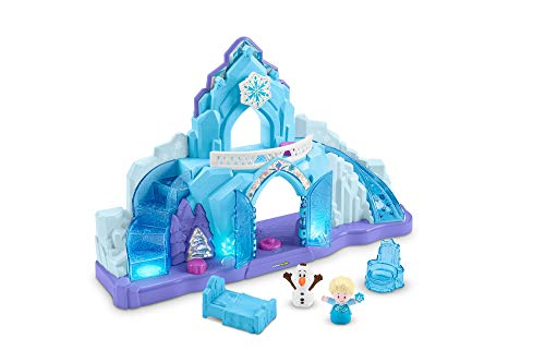 Fisher-Price - Frozen Palazzo di Elsa, Little People Playset con Personaggi, Per bambini 1,5+ Anni, GKV24