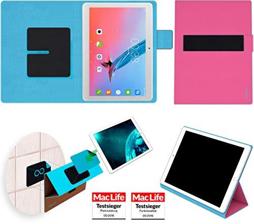 reboon Hülle für Voyo Q101 4G 3GB Tasche Cover Case Bumper | in Pink | Testsieger