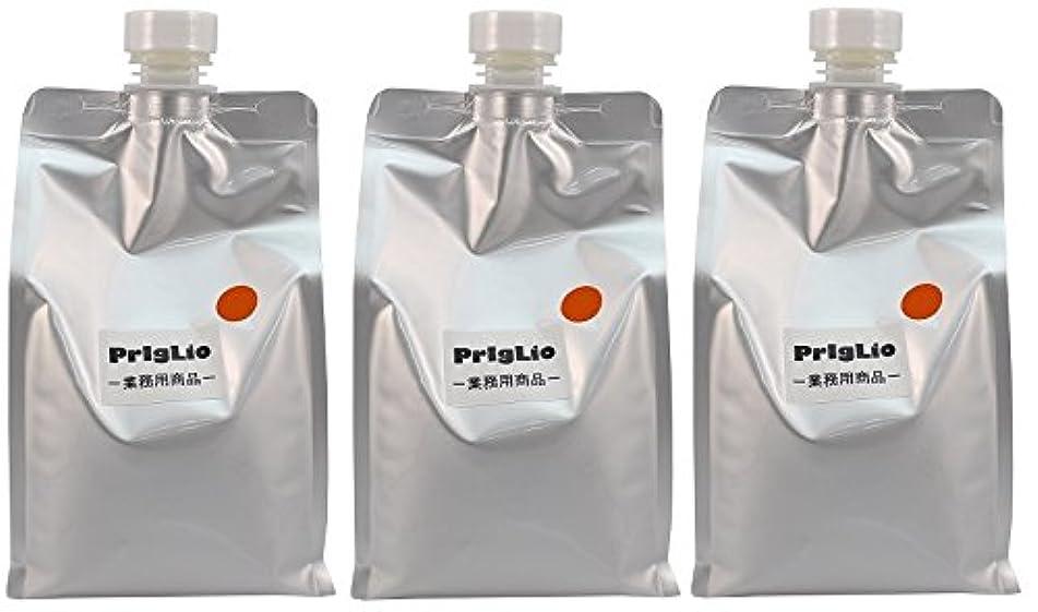 バクテリア咳簿記係【3個セット】BJC プリグリオ D ヘアー サプリメント オレンジ 900ml