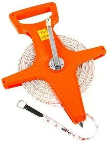 Max 58% OFF Rantepao - 300 Ft free Open Reel Core Measuring Tape Distance Long Re