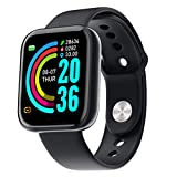 Smart Bracelet 1.3-Inch Smart Watch Fitness Tracker Watches for Men Women HD Color Touchscreen Smart Band IP67 Waterproof Smartwatch with Pedometer Heart Rate Tracker Blood Pressur