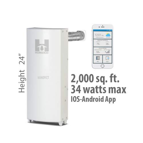 Buy Bargain 24 Wireless Unit with Mobile App Option, System Air Extractor & Dehumidifier - HCS myH