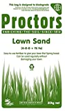 20kg Sack of Proctors Lawn Sand - The Perfect Boost to Your Lawn! 285 sq m