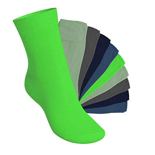 Footstar Kinder Socken (10 Paar) - Everyday! - Cool Colours 35-38