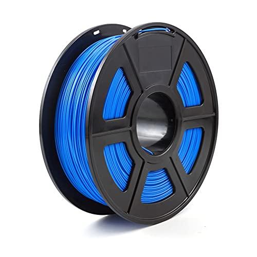 YBINGA 3D Printer Filament ABS 1.75mm 1kg/2.2lb Plastic Consumables Material For 3D Printer And 3D Pen ABS Filament Replacement Parts (Color : Blue)