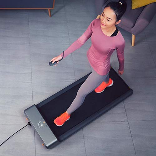 Intelligente Strom Faltbare Laufband Jog Space Walk Maschine Aerobic Sport Fitnessgeräte for Zuhause Xiaomi Ökosystem (Color : Dark Gray)