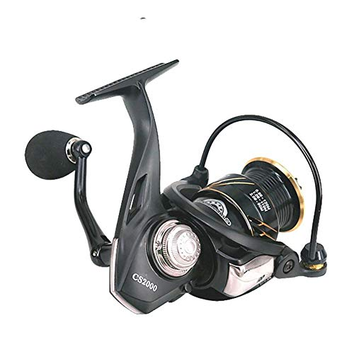 Carrete de la pesca CS2000 / 3000 Spinning 5.0: 1 carrete superficial for señuelo-pesca de la carpa utiliza tanto en agua dulce del agua salada. ( Bearing Quantity : 5 , Spool Capacity : 3000 Series )