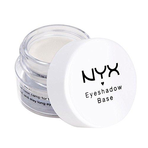 Base de sombra de ojos de maquillaje profesional NYX, Blanco perla, 7.39ml