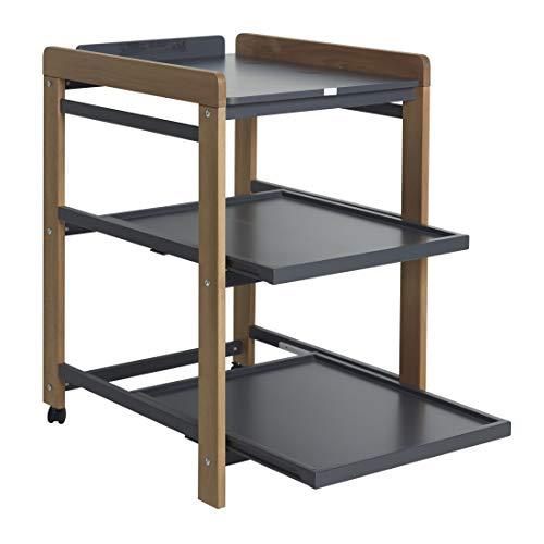 QU-AX Table à Langer Comfort Naturel