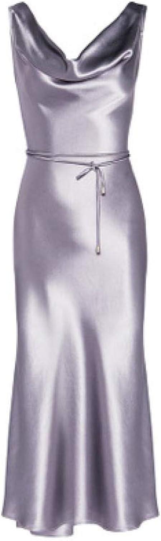ZENWEN Women's Sleeve Long Sleeve Slim Evening Dress Sling Dress for Spring, Summer