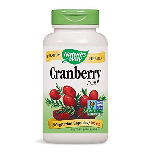 Nature's Way Cranberry Fruit, 180 Vcaps
