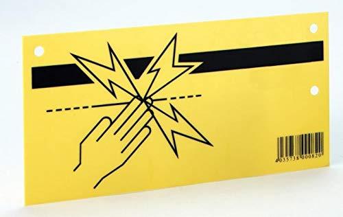AMA Plaquette de signalisation – clôture électrique