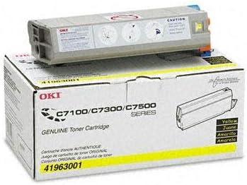 Oki - 41963001 Toner (Type C4) 10000 Page-Yield Yellow